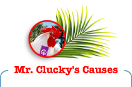 Mr. Clucky's Causes